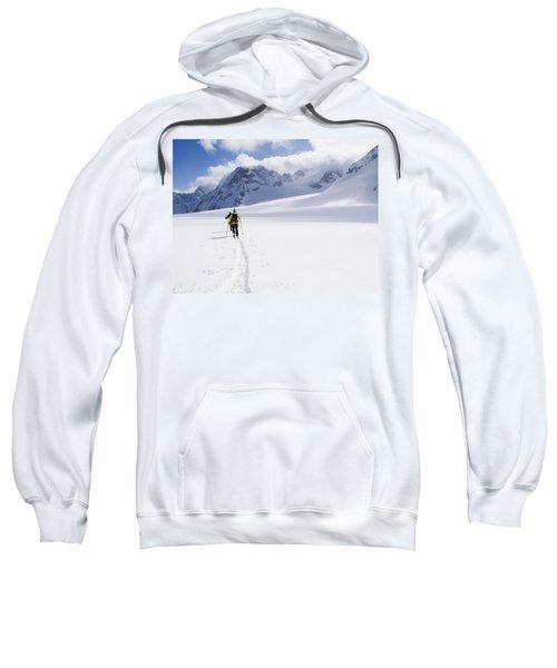Two Skiers Ski Touring Sweatshirt