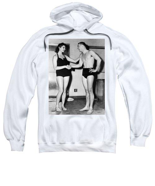 Two Swimming Stars Sweatshirt