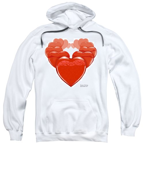 Two Hearts Become One Sweatshirt