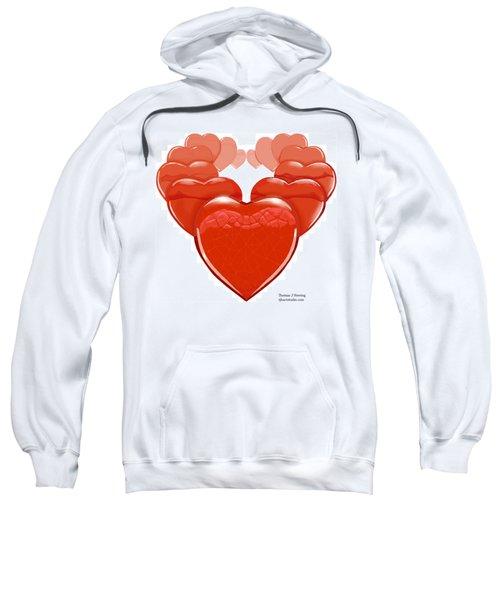 Two Hearts Become One Sweatshirt