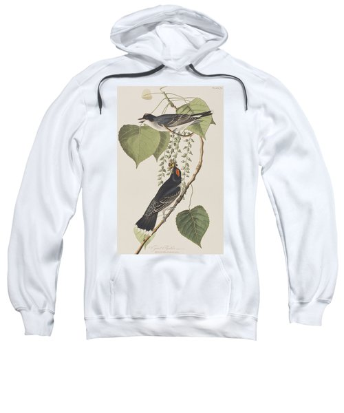 Tyrant Fly Catcher Sweatshirt by John James Audubon