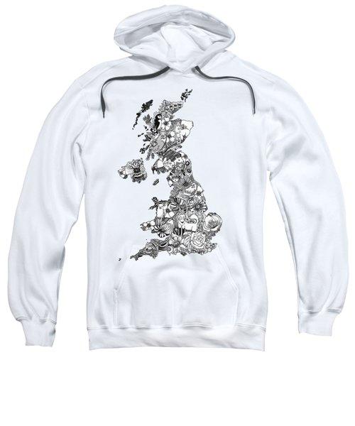 Uk Map Sweatshirt