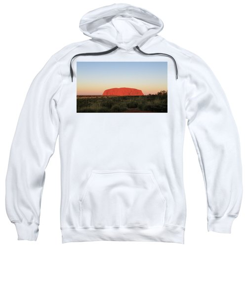 Uluru At Sunset Sweatshirt