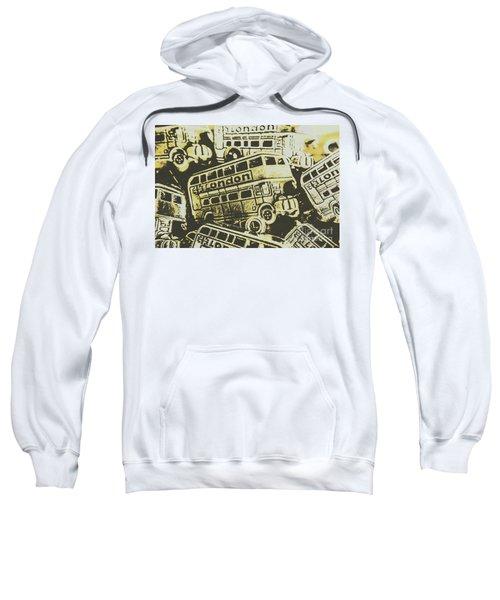Urban Bus Mural Sweatshirt