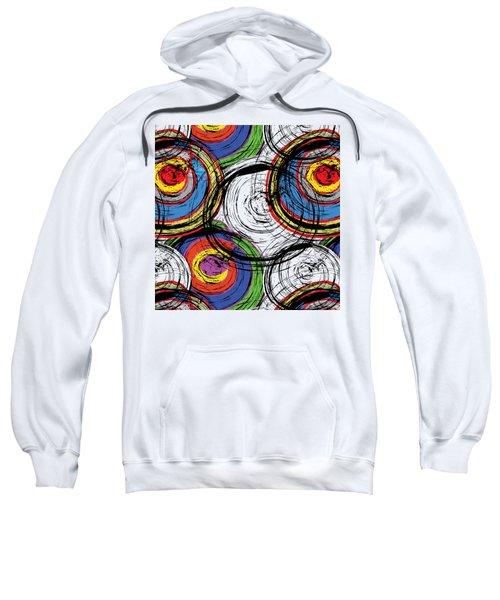 Urban Grunge Swirls Sweatshirt