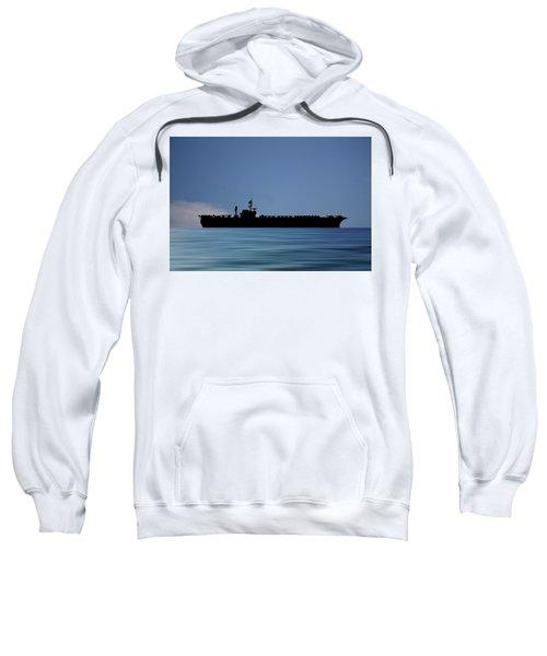 Uss Constellation 1956 V4 Sweatshirt
