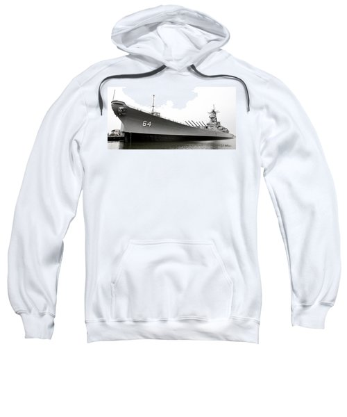 Uss Wisconsin - Port-side Sweatshirt