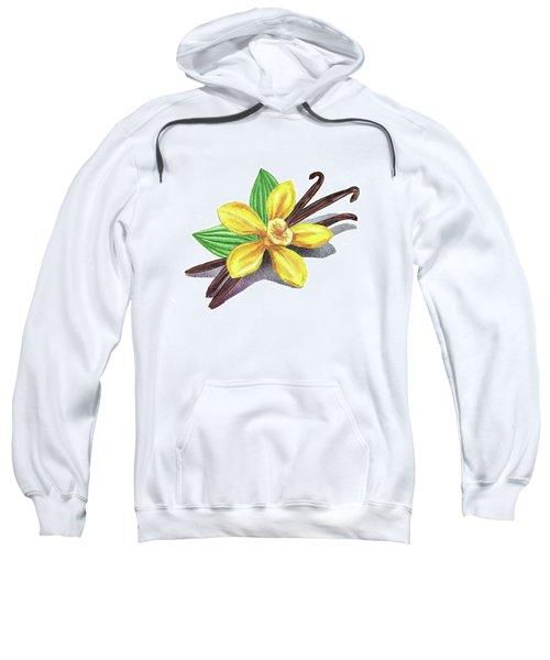 Vanilla Sticks And Flower Sweatshirt