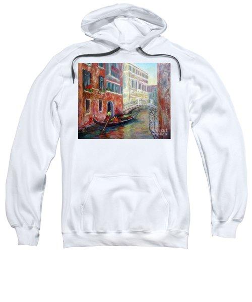 Venice Gondola Ride Sweatshirt