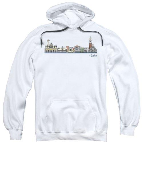 Venice Skyline Colored Sweatshirt