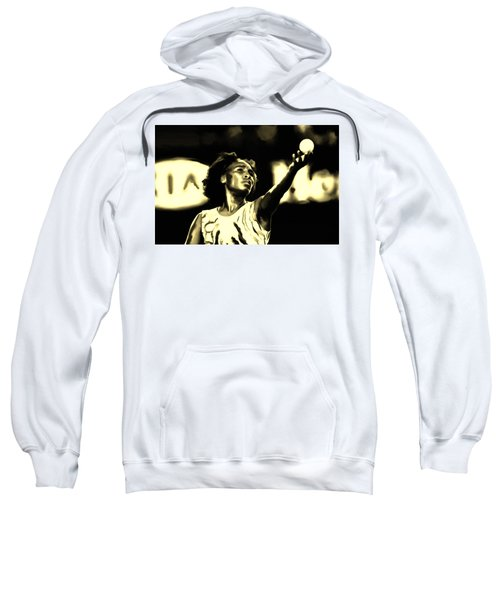 Venus Williams Match Point Sweatshirt by Brian Reaves