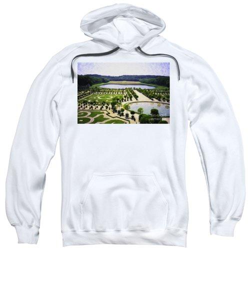 Versailles Digital Paint Sweatshirt