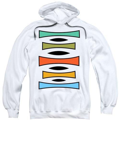 Vertical Trapezoids  Sweatshirt