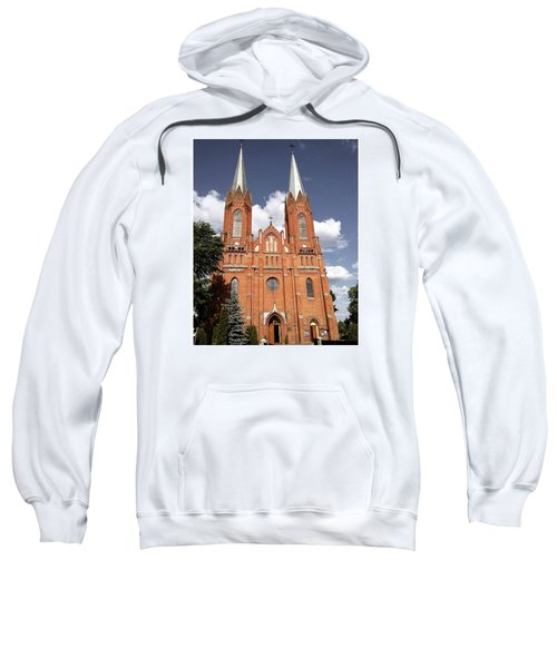 Very Old Church In Odrzywol, Poland Sweatshirt