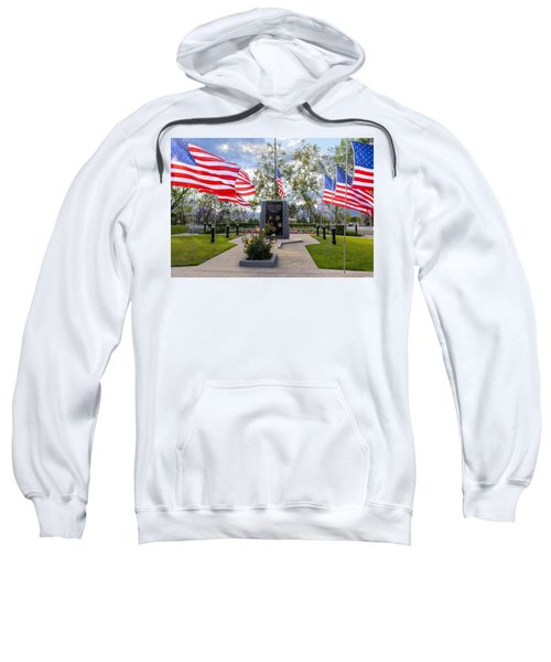 Veterans Monument Camarillo California Usa Sweatshirt