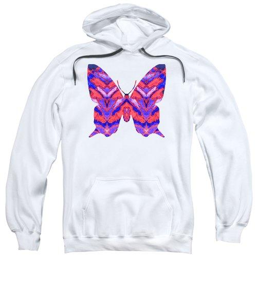 Vibrant Butterfly  Sweatshirt