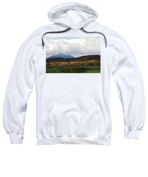 View Of Sharp Top In Blue Ridge Mountains Sweatshirt