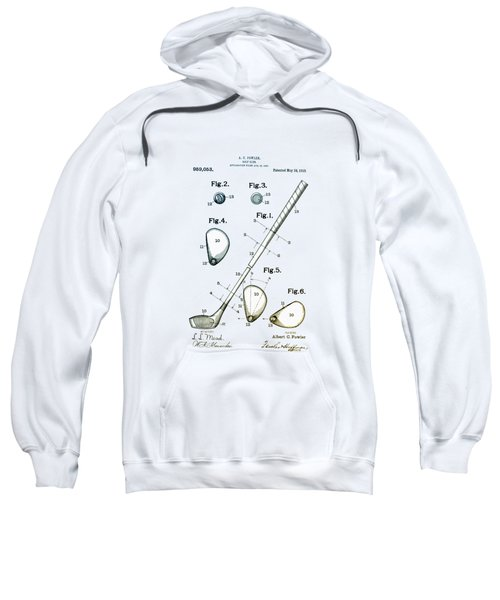 Vintage 1910 Golf Club Patent Sweatshirt