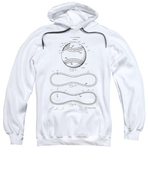 Vintage 1928 Baseball Patent Sweatshirt