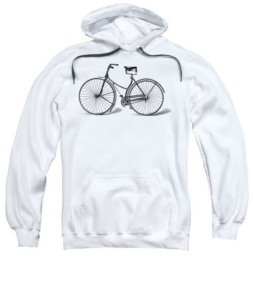 Sweatshirt featuring the digital art Vintage Bike by ReInVintaged