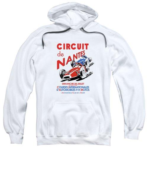 Vintage Nantes Grand Prix Poster Sweatshirt