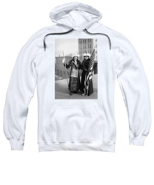 Vintage Photo Suffragettes Sweatshirt
