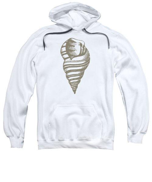 Vintage Sea Shell Illustration Sweatshirt