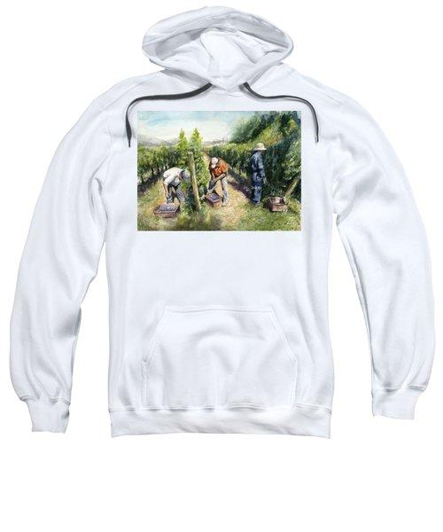 Vineyard Watercolor Sweatshirt