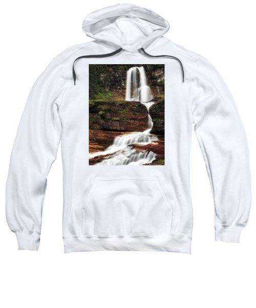 Virginia Falls Glacier National Park Sweatshirt