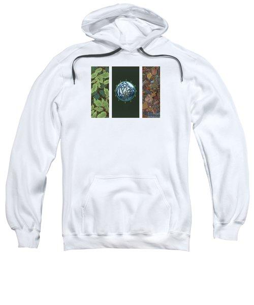 Viriditas Triptych Sweatshirt