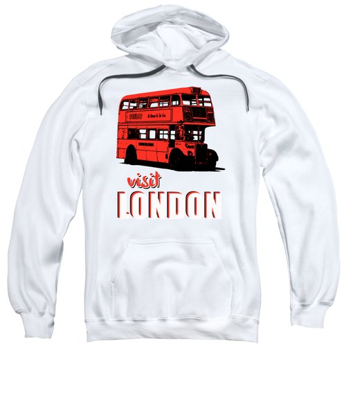 Visit London Tee Sweatshirt by Edward Fielding
