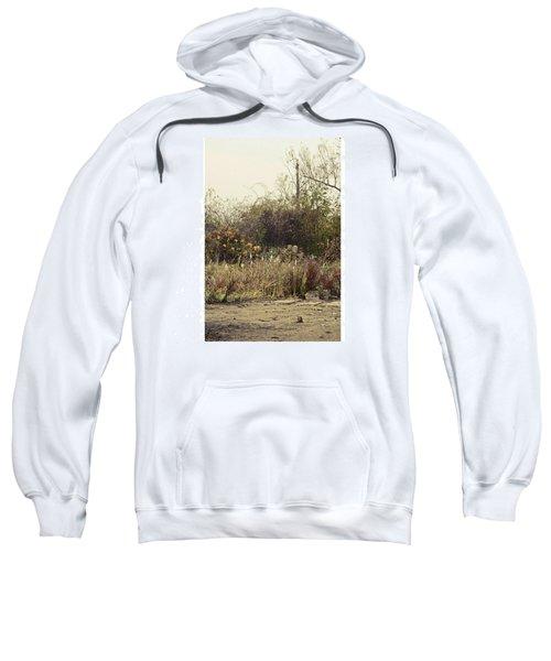 Walking By The Lake  #landscape #lake Sweatshirt by Mandy Tabatt