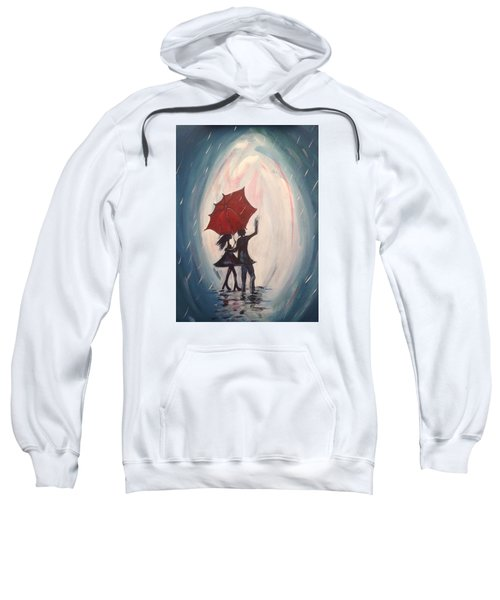 Walking In The Rain Sweatshirt by Roxy Rich