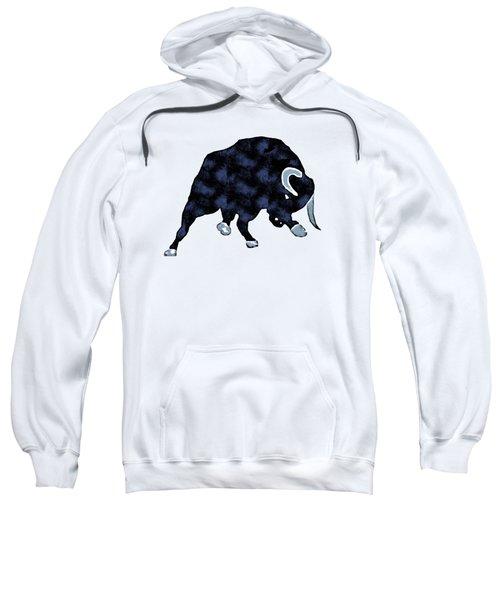 Wall Street Bull Market Series 1 T-shirt Sweatshirt by Edward Fielding