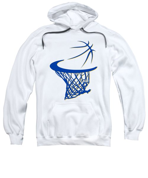 Warriors Basketball Hoop Sweatshirt