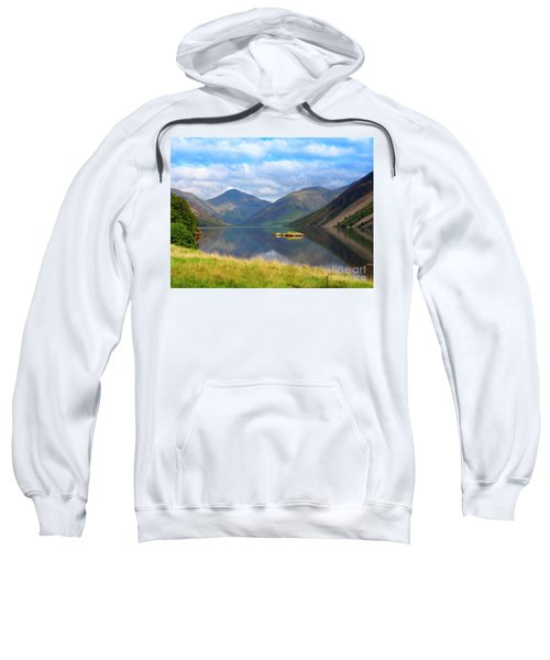 Wasdale And Wast Water With Great Gable And Lingmell Sweatshirt