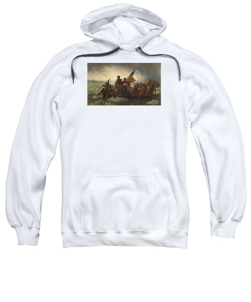 Washington Crossing The Delaware Sweatshirt by War Is Hell Store