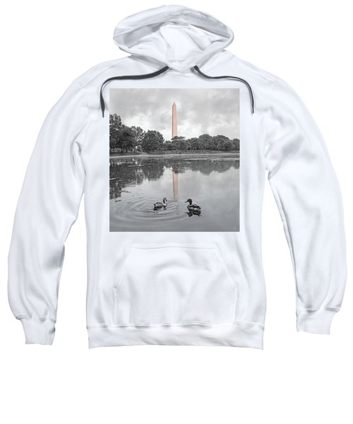 Washington Monument Mallards In Love Sweatshirt