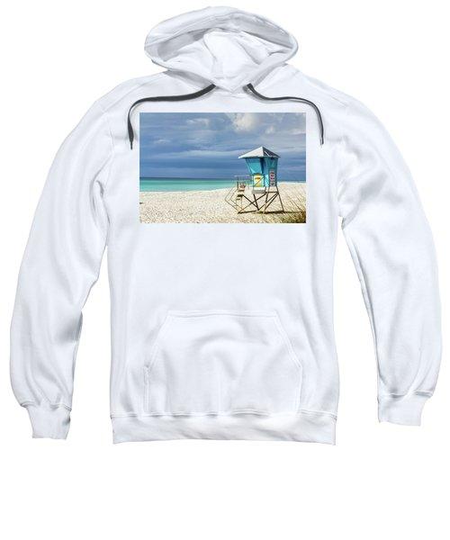 Lifeguard Tower Florida Gulf Coast Sweatshirt
