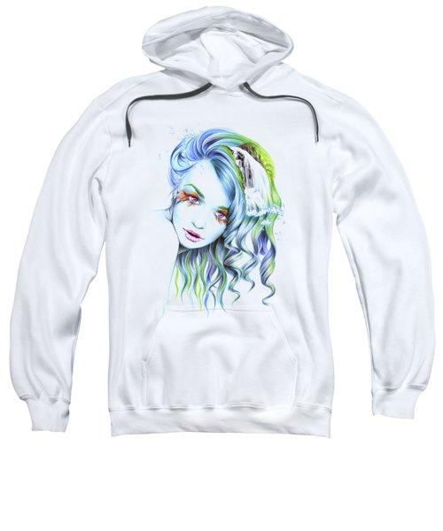 Water Sweatshirt by E Drawings