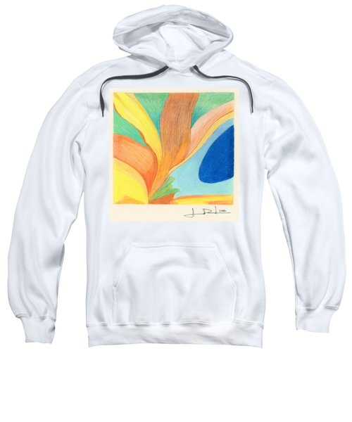 Water Grass Blue Pond Sweatshirt
