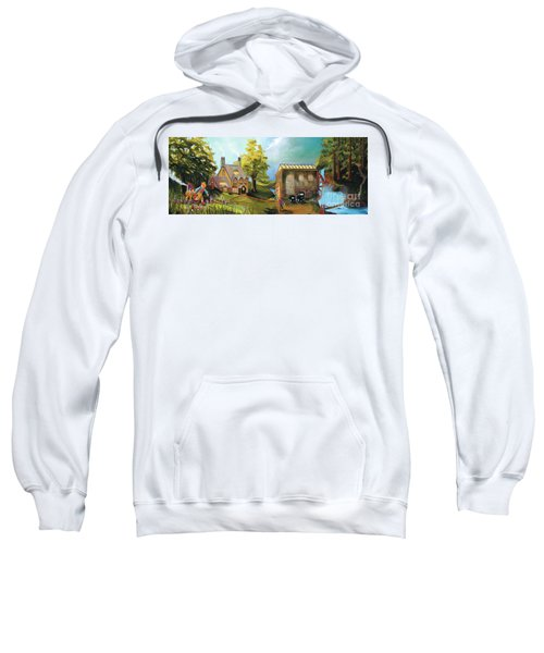 Water Wheel Sweatshirt