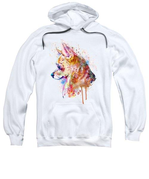 Watercolor Chihuahua  Sweatshirt