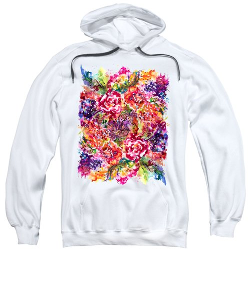 Watercolor Garden IIi Sweatshirt