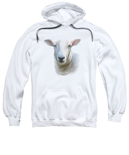 Watercolor Sheep Sweatshirt