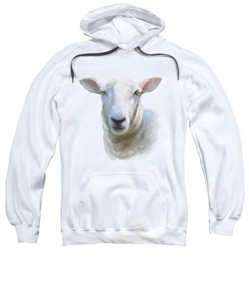 Watercolor Sheep Sweatshirt