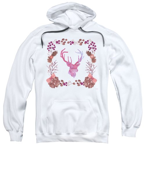 Watercolors In The Wilderness Sweatshirt