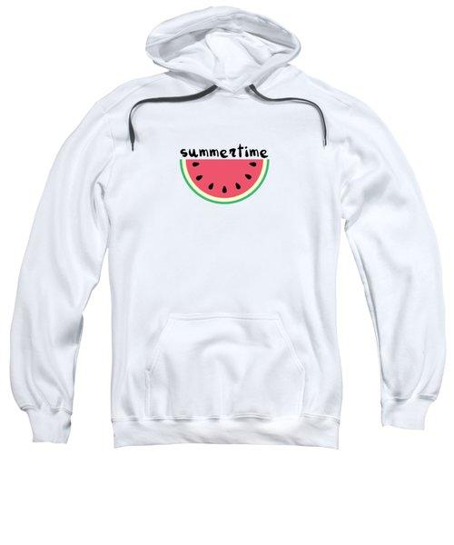 Watermelon Sweatshirt by Alina Krysko