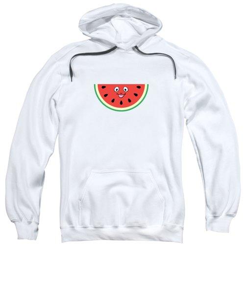 Watermelon Ornament Sweatshirt by Alina Krysko
