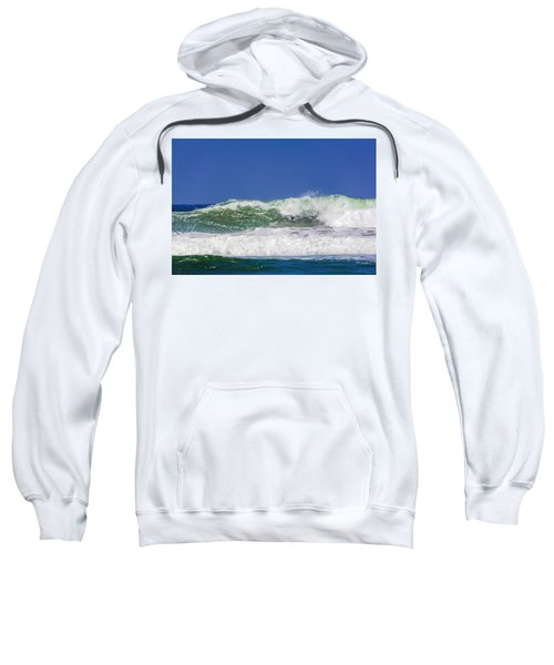 Wave Rolling To The Beach Sweatshirt